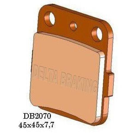 _Delta Brake Pads Front Honda CR 80 R 86-02 CR 85 R 03-07 Rear Kawasaki KX 80 88-00 KX 85 01-13 | DB2070 | Greenland MX_