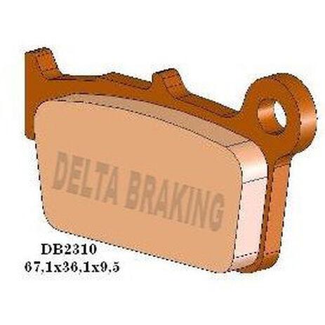 _Delta Braking Bremsbeläge Hinten Gas Gas 09-13 Yamaha YZ 125/250 03-13 Suzuki RMZ 250 04-13 RMZ 450 05-13 | DB2310 | Greenland MX_
