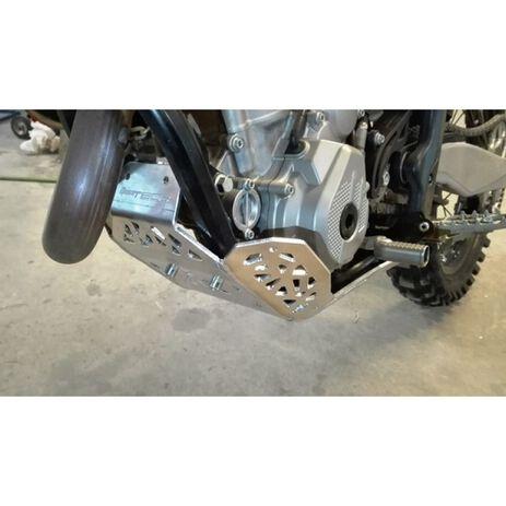 _Motorschutzplatte mit Umlenkhebelschutz P-Tech KTM EXC-F 250/350 17-21 Husqvarna FE 250/350 17-21 | PK007H | Greenland MX_