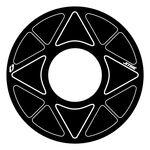 _Jitsie Sprocket Trial Sticker 41T-44T | BT280-618ST-4144NW-P | Greenland MX_