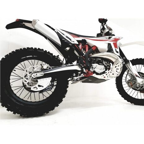 _P-Tech P-Tech Skid Plate with Exhaust Pipe Guard and Plastic Bottom Beta RR 250/300 20-.. | PK017B | Greenland MX_