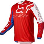 _Fox 180 Skew Jersey White/Red/Blue | 28148-574 | Greenland MX_