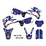 _Tecnosel Decal Kit + Seat Cover Replica Team Yamaha 1998 YZ 125/250 96-01   82V02   Greenland MX_