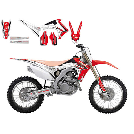 _Linear Graphic Kit Blackbird Honda CRF 250 R 14-17 CRF 450 R 13-16 | 2145 | Greenland MX_