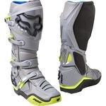 _Fox Instinct Boots Gray/Yellow | 27463-086 | Greenland MX_