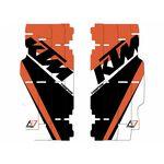 _Blackbird Replica Team Trophy Kühlergitter Aufkleber Kit KTM SX/SXF 13-15 EXC 14-16 | A501R17 | Greenland MX_