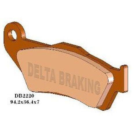 _Plaquettes De Frein Delta Avant Gas Gas 125/200/250/300 97-99 KTM EXC 125/200/250/300 98-19 ( Brembo ) | DB2220 | Greenland MX_