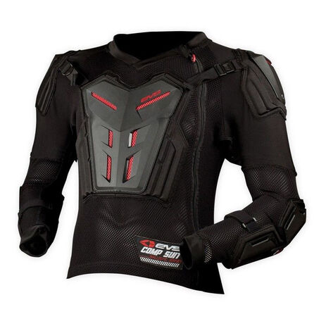 _EVS Comp Suit Youth Jacket Protector Black | JCSBKP | Greenland MX_