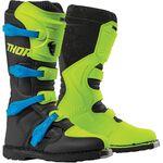 _Thor Blitz XP Boots Green/Black | 3410-2191-P | Greenland MX_