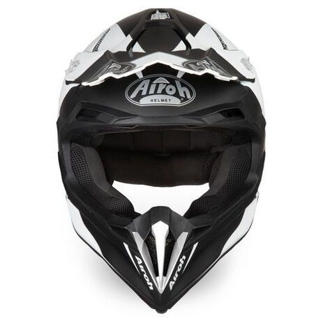 _Airoh Terminator Open Vision Slider Helmet Black | TOVS17 | Greenland MX_