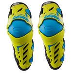 _Leatt Dual Axis Knee Guard Lime/Blue | LB5017010190P | Greenland MX_