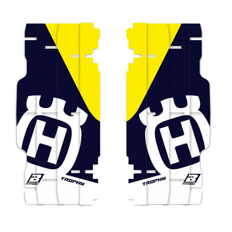 _Blackbird Replica Trophy 2020 Kühlergitter Aufkleber Kit Husqvarna FC/TC 14-15 TE/FE 14-16 | A601R4 | Greenland MX_