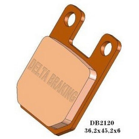 _Delta Brake Pads Front Beta RR 50 Motard 09-12 Standard | DB2120 | Greenland MX_