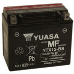 _Yuasa Battery Free Maintenance YTX12-BS | BY-YTX12BS | Greenland MX_
