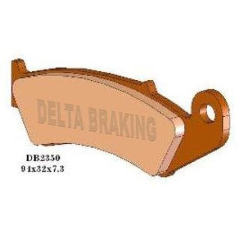 _Delta Front Brake Pads Honda CR125/250 R 87-94 XR 250 R 88-95 CR 500 R 87-94 XR 600 R 88-90 | DB2350 | Greenland MX_