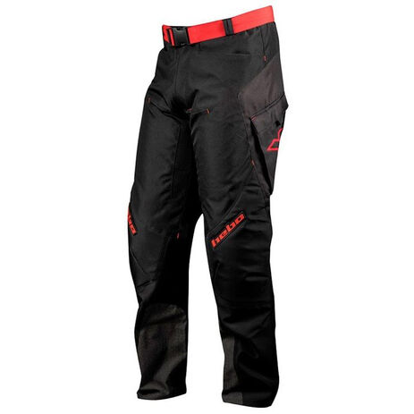 _Pantalon Hebo Baggy Light Noir/Rouge | HE3191 | Greenland MX_