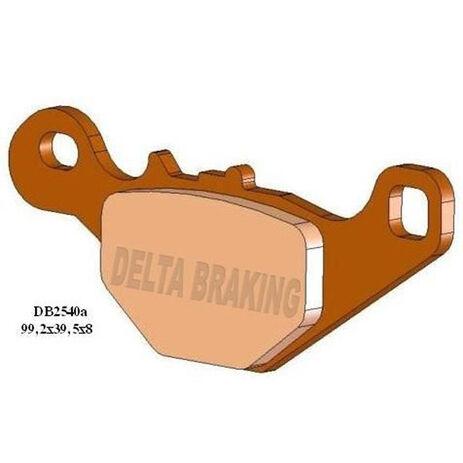 _Delta Rear Brake Pads Suzuki RM 85 05-13 | DB2540 | Greenland MX_