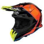 _Airoh Terminator Open Vision Slider Helmet Blue/Orange | TOVS18 | Greenland MX_
