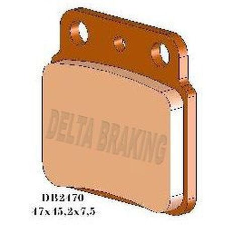 _Delta Bremsbeläge Hinten Suzuki LTZ 400 03-12 | DB2470 | Greenland MX_
