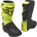 _Fox Comp Youth Boots Fluo Yellow | 27689-130 | Greenland MX_
