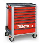 _Werkzeugwagen mit Acht Schubladen Beta Tools | C24S-8-R-P | Greenland MX_
