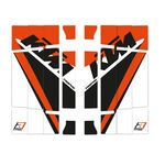 _Blackbird Replica Trophy 2020  KTM SX/SXF 19-.. EXC 20-.. Rad Louver Decals | A503R19 | Greenland MX_