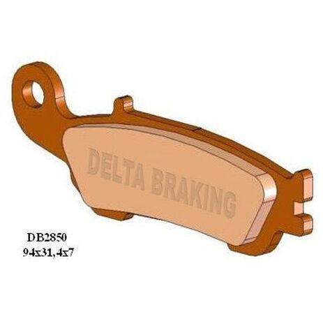_Plaquettes De Frein Delta Avant Yamaha YZ 125/ YZ 450 F 08-13 YZ 250/ YZ 250 F 07-13 | DB2850 | Greenland MX_