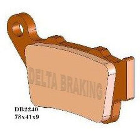 _Delta Bremsbeläge KTM SX 125 94-03 EXC 125-250 95-03 EXC-F/SX-F 520-525 01-03 | DB2240 | Greenland MX_