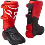 _Fox Comp Youth Boots Red Fluo | 27689-110 | Greenland MX_