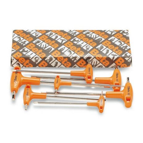 _Sechskant-Stiftschlüsselsatz 6tgeilig Gebogen mit Griff Beta Tools   96T-S6   Greenland MX_