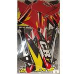 _Graphic Kit Blackbird Honda CRF 250 R 04-07 | BKBR-2135 | Greenland MX_