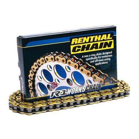 _Chaine Renthal Super Renforcée R1 428 130 Maillons | C272-P | Greenland MX_