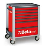 _Werkzeugwagen mit Sieben Schubladen Beta Tools | C24S-7-R-P | Greenland MX_