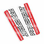 _Pro Circuit Standard Fork Decals | DCFD-RED | Greenland MX_