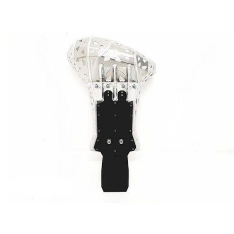 _Sabot Avec Protecteur Echappement et Bielettes KTM EXC 250/300 20-..HVA TE 250/300 20-. | PK016H | Greenland MX_