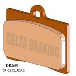 _Plaquettes De Frein Avant  Delta Aprilia 125 RS4 11-15 | DB2650 | Greenland MX_
