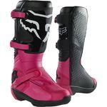 _Fox Comp Ladies Boots Black/Pink | 27690-285 | Greenland MX_