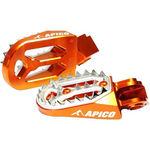 _Apico Pro-bite Husqvarna FC 16-.. KTM SX-F 16-.. Enduro Footpegs | AP-FPROKTM16OR-P | Greenland MX_