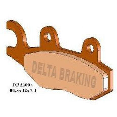 _Delta Bremsbeläge Vorne Yamaha YZ 125 90-97 250 89-97 WR 250 91-97 RM 125/250 87-95 KLX 250 9-13 Husqvarna CR/TC/TE/WR 92-94 | DB2200 | Greenland MX_