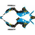 _Yamaha Ténéré 700 19-.. Square Full Sticker Kit | SK-YTE70019SQBLBK-P | Greenland MX_