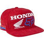 _Fox Honda HRC Youth Snapback Hat Red | 28683-122-OS-P | Greenland MX_