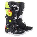 _Alpinestars Tech 5 Boots Black/Red/ Yelloww   2015015-1355   Greenland MX_