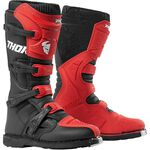 _Thor Blitz XP Youth Boots Red/Black | 3411-0524-P | Greenland MX_