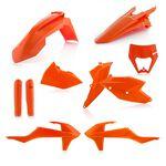 _Acerbis KTM EXC/EXC-F 17-19 Plastic Kit Full Orange 16 | 0022371.011.016-P | Greenland MX_
