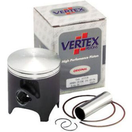 _Vertex Piston Kawasaki KX 125 92-93 1 Ring | 2248 | Greenland MX_