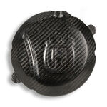 _Husqvarna Enduro 250/300 2 Strokes 14-15 Carbon Fiber Clutch Cover Protection | CRPTE-HUSQ2T | Greenland MX_