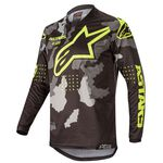 _Alpinestars Racer Tactical Jersey 2020 Black/Camo/Yellow Fluo | 3761220-1154 | Greenland MX_