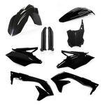 _Kit plastiques Acerbis Kawasaki KX 450 F 16-17 Noir | 0021843.090-P | Greenland MX_