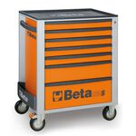 _Werkzeugwagen mit Sieben Schubladen Beta Tools | C24S-7-O-P | Greenland MX_