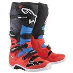 _Alpinestars Tech 7 Boots Black/Red/Blue | 2012014-3711-P | Greenland MX_